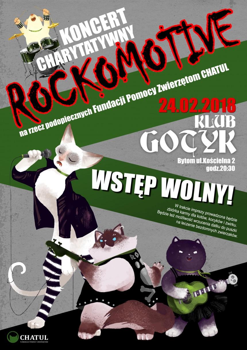 Koncert charytatywny Rockomotive